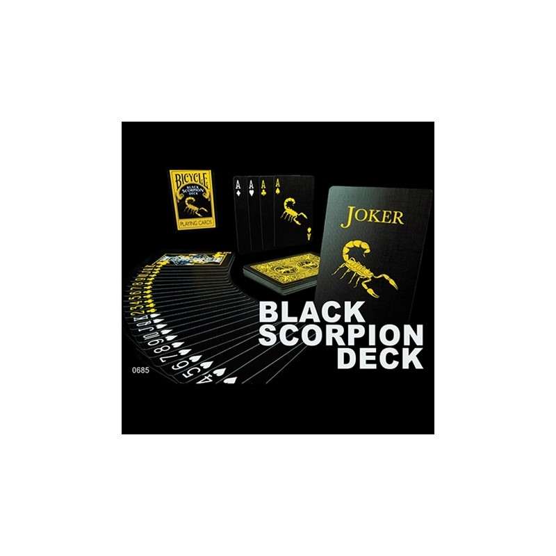 Black Scorpion Deck- Bicycle