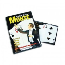 Million Dollar Monte DVD with Bicycle Cards
