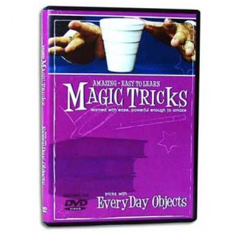 Amazing Easy To Learn Magic Tricks- Tricks with EveryDay Objects