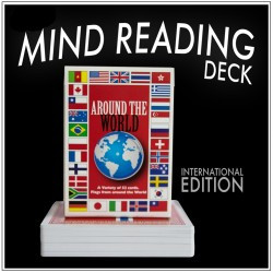 Mind Reading Card Deck - Around the World